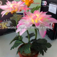 Hot sale artificial flower with led lighting