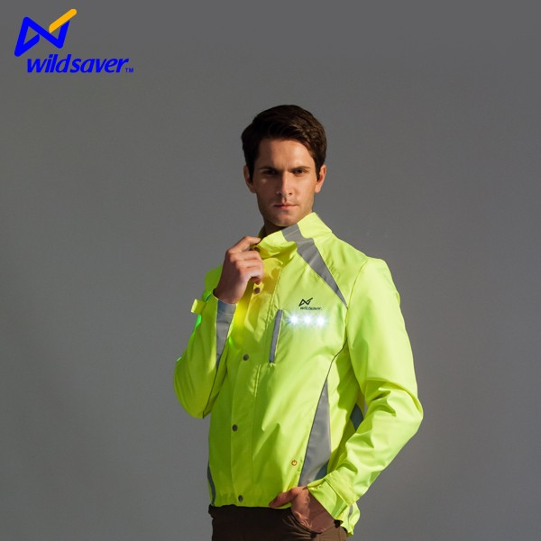 Hi Vis Led Safety Jacket Outdoor/Outdoor Clothes