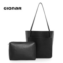 Simple and Practical Design Ladies Leather Tote Bag Wholesale