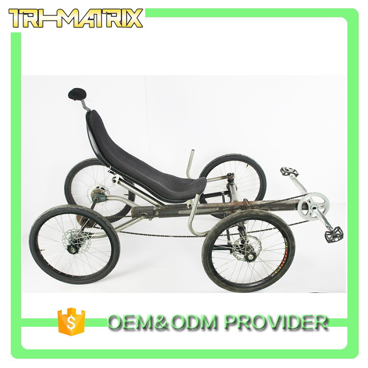 Best quality hot selling 4 stroke recumbent trike for sale
