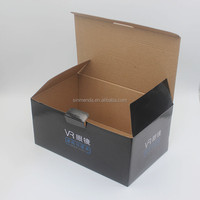 Custom high quality paper cardboard sunglass / VR glass packaging shipping box