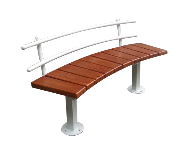 China popular design rustic garden bench