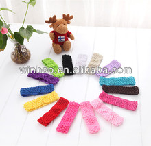 fancy knitted crochet baby headbands wholesale