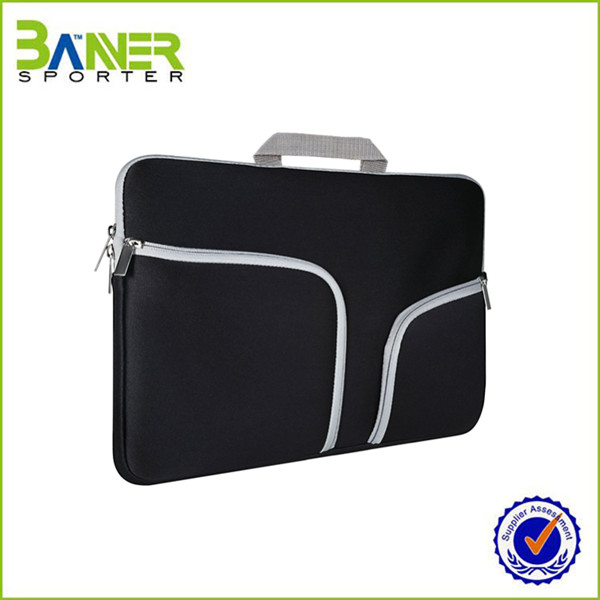 Custom Waterproof Handle Polyester Neoprene Computer Cover Laptop Case,Eminent Laptop Bag