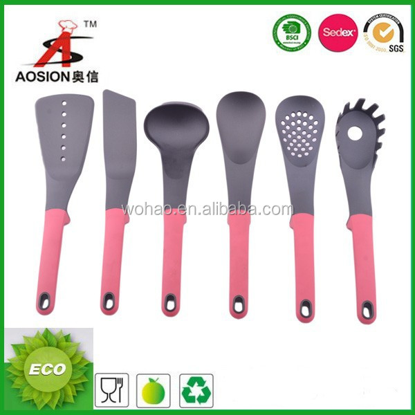 china factory nylon kitchen utensils list