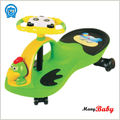 2015 newest design Musical Baby Swing Car Cartoon Design Infant Swing Car