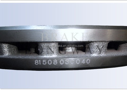 Genuine Brake Disc With ASTM-G3000 Standard