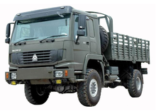 Sinotruck HOWO 4x4 All Wheel Drive Vehicle Cargo Truck/Military Quality for sale