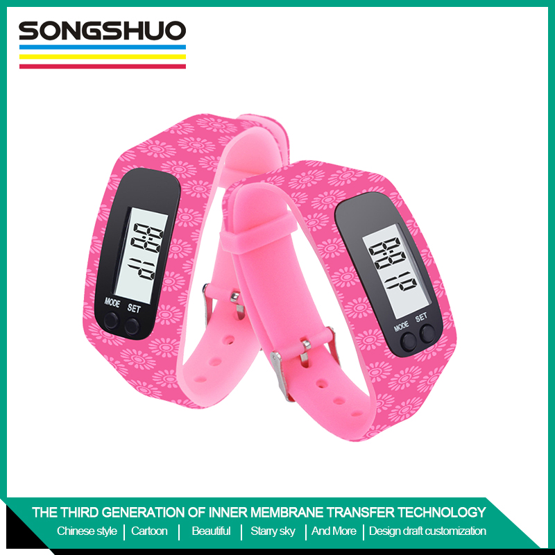 wristband pedometer silicone Specializing in the production free sample