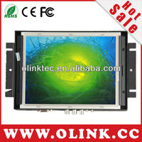 8 inch advertise mini wall rack mount screen with touch function