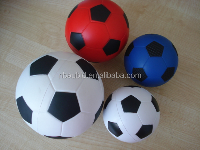 China Top Supplier EN71 PU foam toys various sizes custom PU Foam football