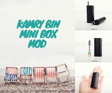 high quality cbd mod box mod kamry bin kit with vape cbd oil cartridge from vapor tech