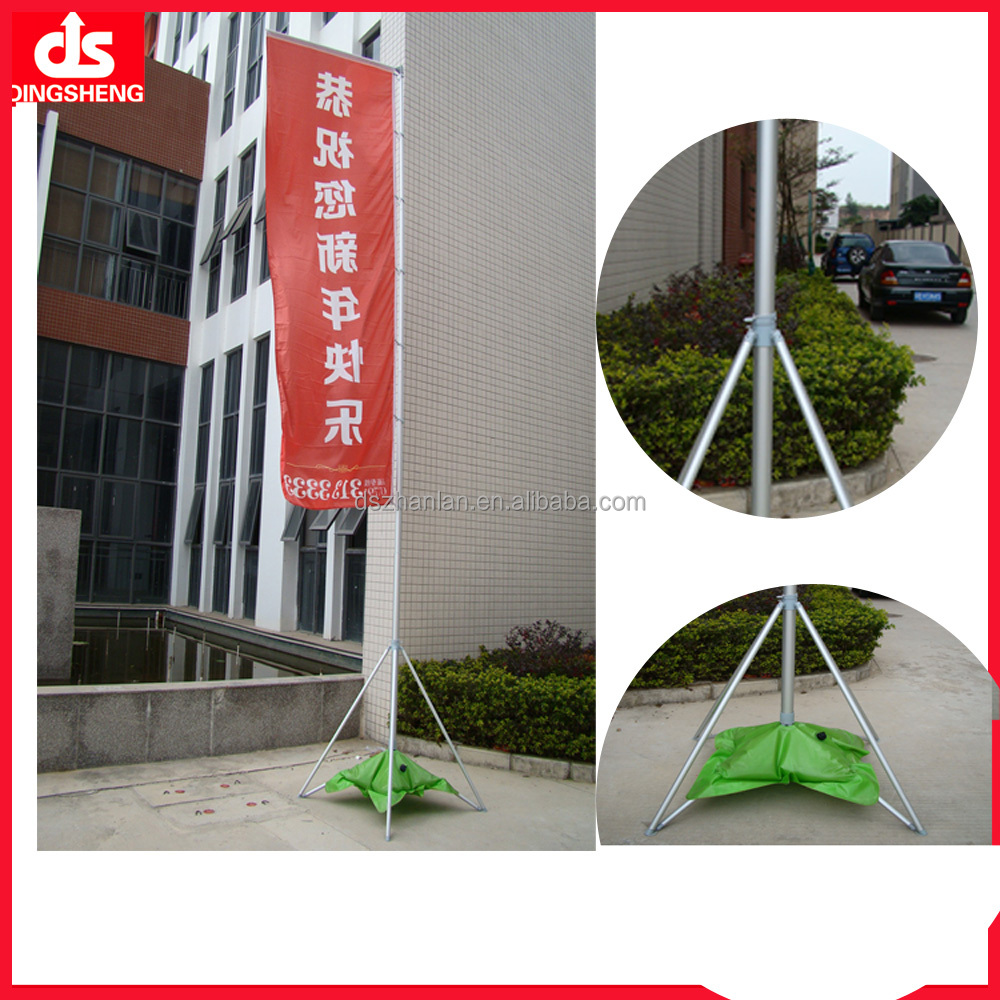 20ft giant flag banner telescopic flag pole