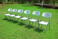 HEAVY DUTY FOLDING PLASTIC/STEEL CHAIRS folding chair / chair folding