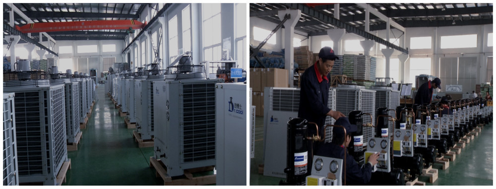 Water cooler industrial refrigeration condenser unit