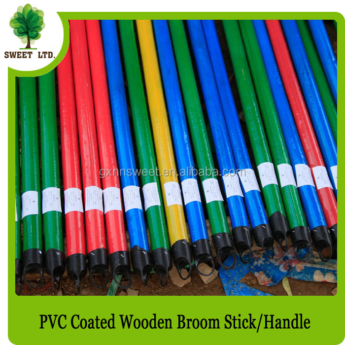 Plastic Coated High Quality Wooden Handles for Hand Tools