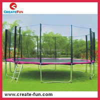 CreateFun 8FT Kids Gymnastic Equipment Jumping Outdoor Trampoline