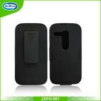 Online selling shockproof hard belt clip holster case for Moto g for xt1032