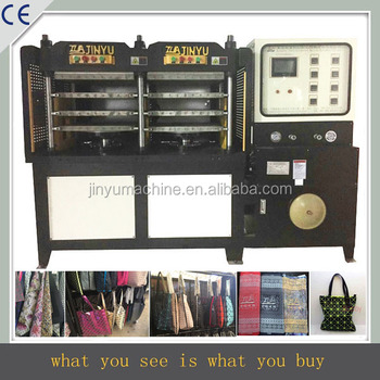 6 station kpu bag making machine, kpu shoes making machine