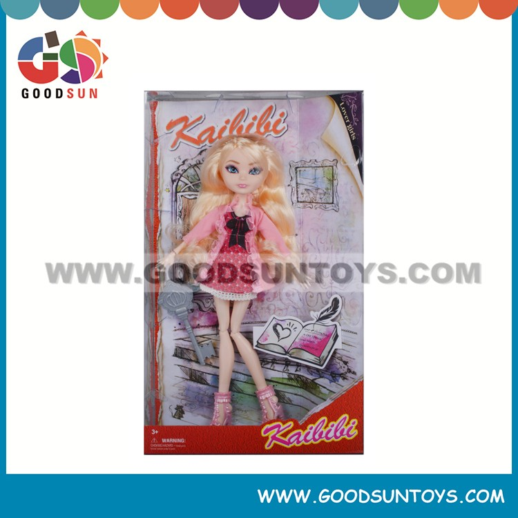 Educational Plastic Beauty Girl Doll Fashion Online Doll Dressing-up Girl Games
