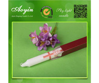 high quality paraffin wax white lighting candles