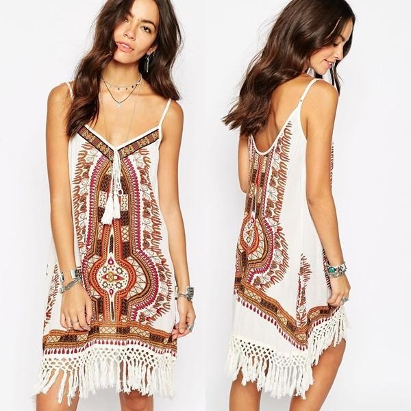 New Dress The Sofishie Fashion Bohemian Sleeveless Vneck Maxi Dress Up