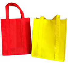 Promotional fashion custom made shopping tote non woven laminated bag