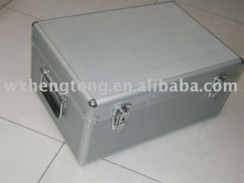 Aluminum Carrying Case for CD/DVD