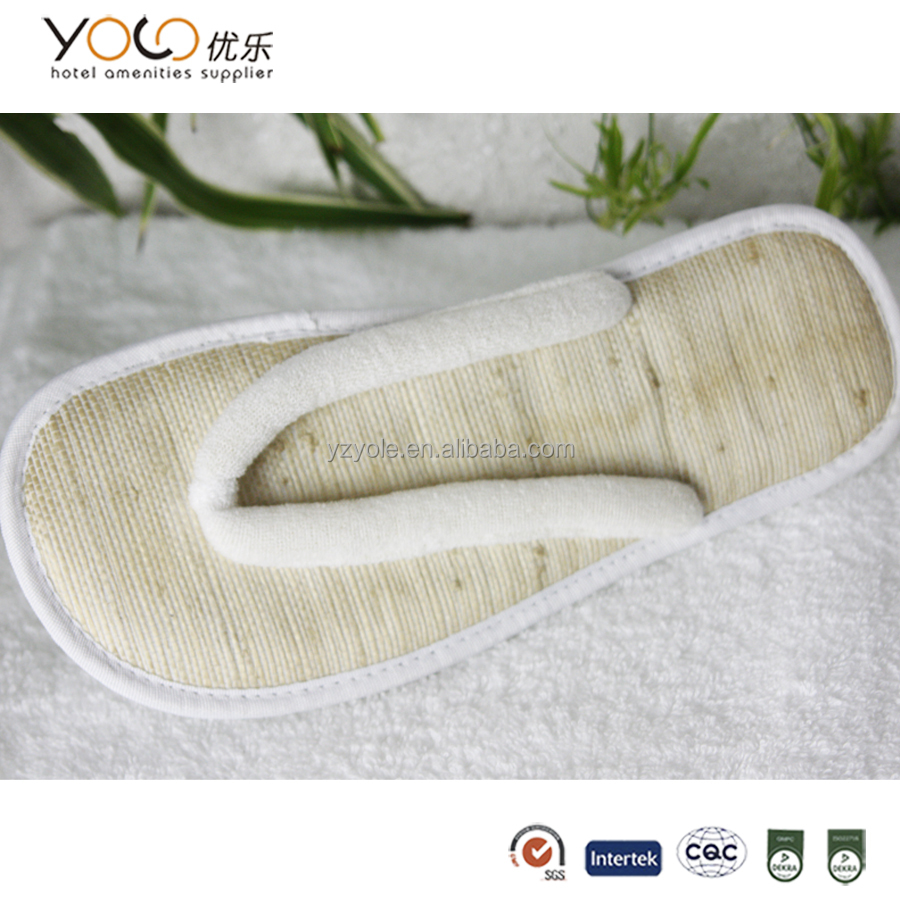 cheap custom bamboo slippers indoor shoes for women