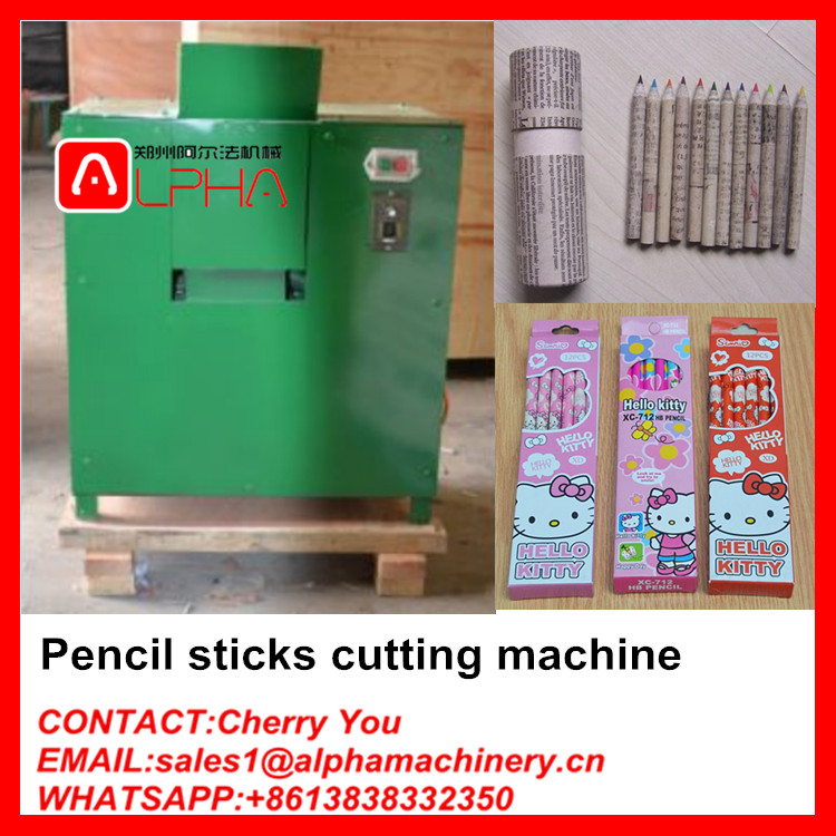 Full production line waste paper pencil making machine for sale