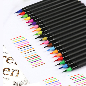 50/100 colors blendable painting water brush pen