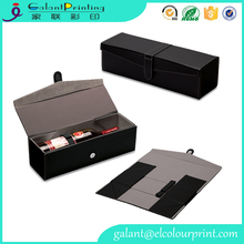 High Quality Faux Leather Wine box Carrier for Gifts