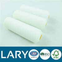 white mini paint roller sleeve