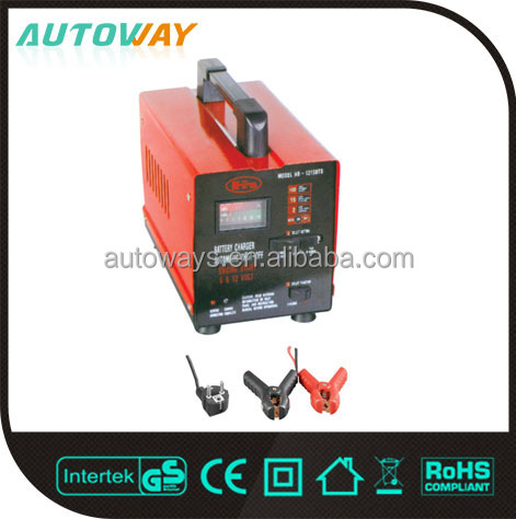Low Cost High Capacity Portable Car Battery Charger 12v 24v