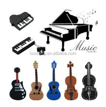 Musical Instrument USB Flash Drive in Guitar Piano Violin Shape Memory Stick U Disk