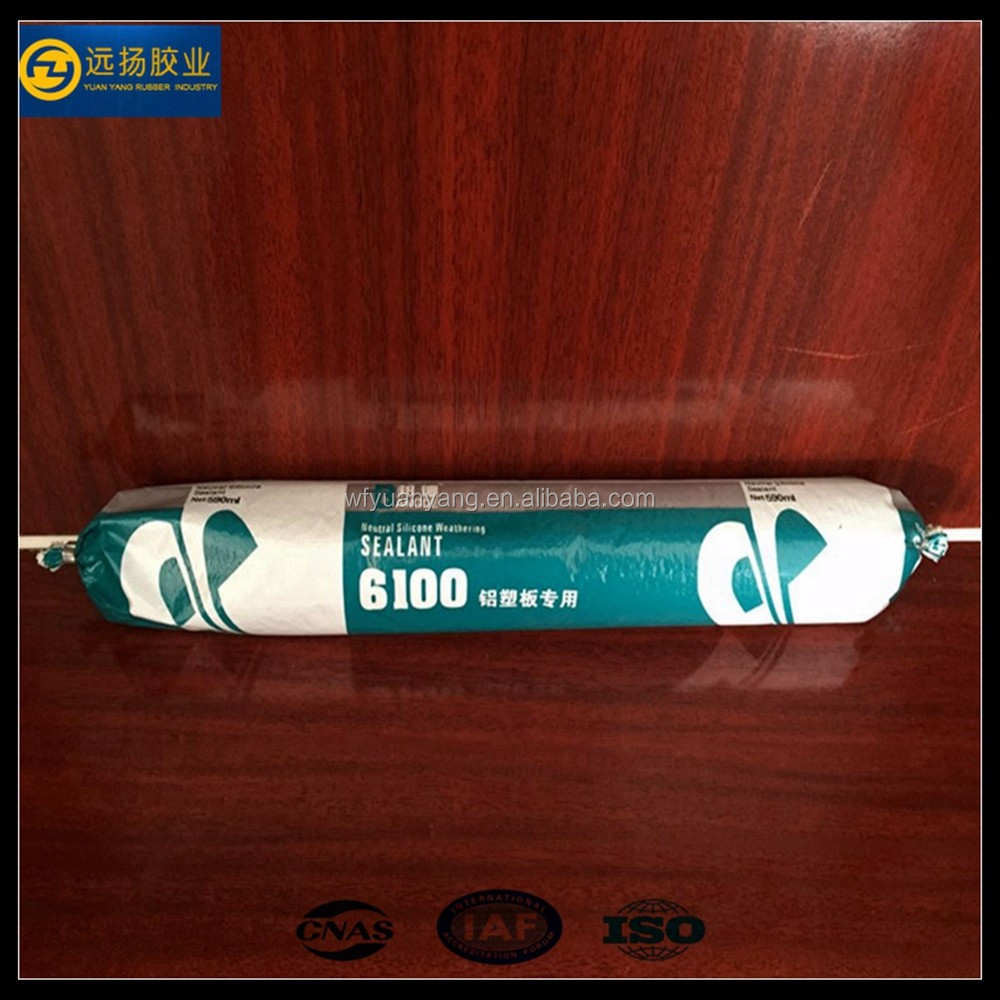 Aluminum Window Sealant Plastic Panel Silicone For Construction