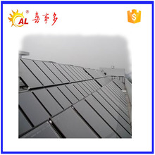 Split pressurized solar thermal collector swimming pool heating