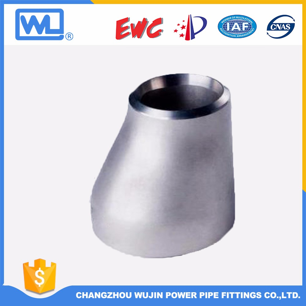 Butt welding stainless steel concentric reducers pipe fittings