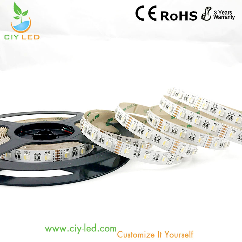 16W bulk wholesaler 12V SMD5050 LED strip RGBW