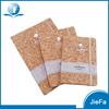 Customized Soft Wood Cover Notebook Manufacturer Cork Notebook With Band