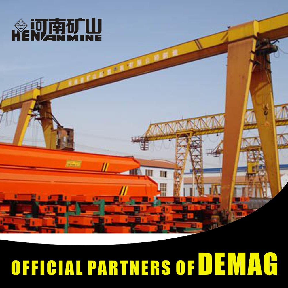 1T High Quality Shipyard Single Girder Gantry Crane Manufacturers For Sale