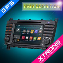"Xtrons PF75M209A 7"" car radio android 5.1 for Mercedes W209"