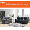 durable reclining sofa 7451, recliner chair, good elasticity reclining sofa