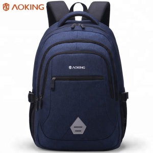 2018 Aoking high visibility 40l 3-way storage simple classic embroidered backpack bag school laptopbag zaino
