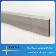 Stainless steel straight food cutting blade