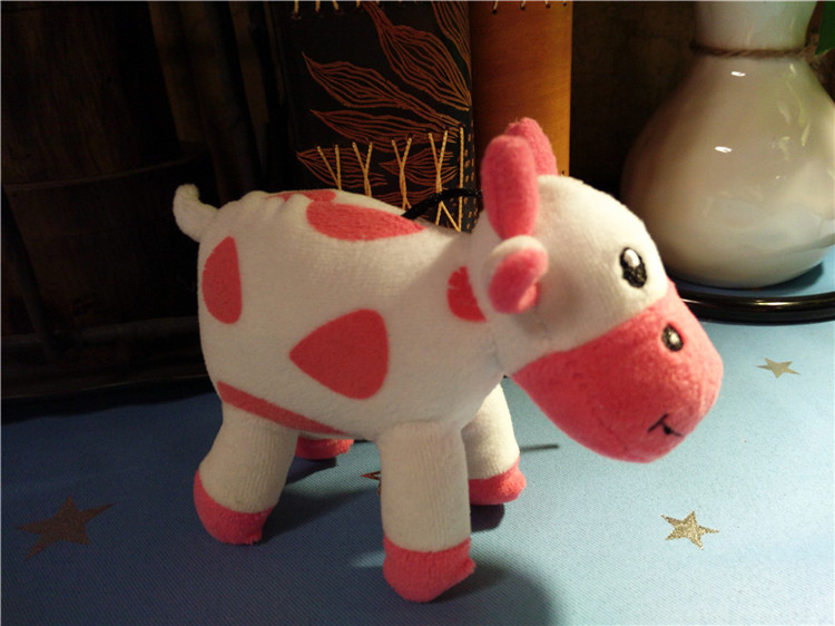 Top Selling Pink Cow Plush Toys Lovely Deisgn Girl Gift