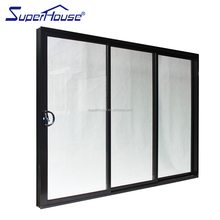 australia standard Tempered safety glass aluminium sliding stacking doors