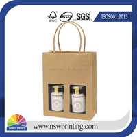 Customized Recyclable High Quality Kraft Paper Bag With Window