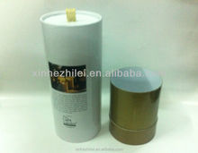 Guangzhou custom round box cylinder cardboard paper candle tube box packaging