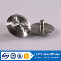 professional foundry brass warning tactile stud to anti slip anti-slip stair nosing made in China